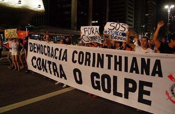 Diversas torcidas pelo país já têm núcleos antifascistas - Créditos: Foto: Mauro Donato/DCM