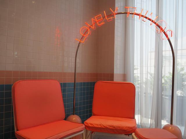 P6168302 STYLENANDA(スタイルナンダ) pink pool cafe(ピンクプールカフェ) 핑크풀카페 弘大 ソウルカフェ ひめごと
