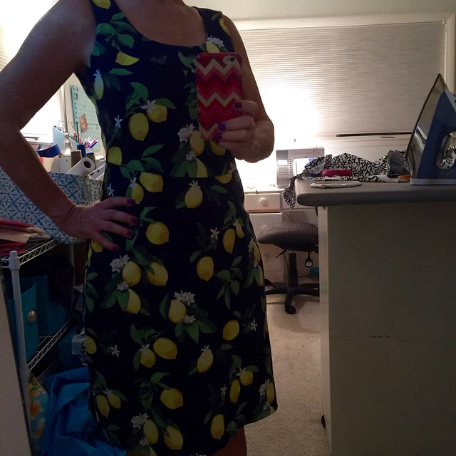 lemon dress mirror