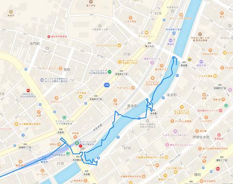 大岡川〜黄金町