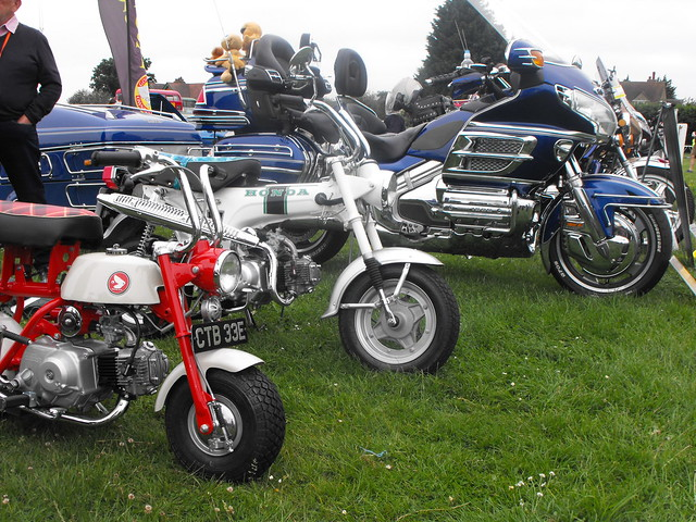 Honda Motorcycles @ Luton 2018, Fujifilm FinePix S1000fd