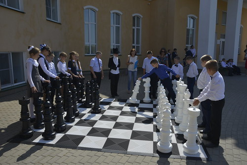 Шахматный турнир с детьми на площадке музейно-просветительского центра музея