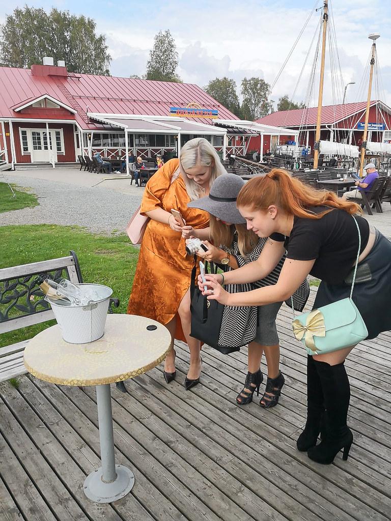 Blogimiitti, Polvijärvi, Joensuu, Jokiasema, bloggaajat, tyylibloggaajat, muotibloggaajat, kaverukset, ystävät