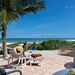 Staged shot for Beachfront Vacation Rental