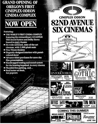 Portland, OR cinema opening