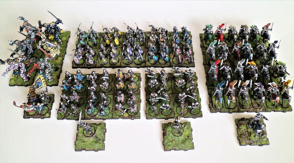 Runewars Miniatures Full Daqan Army Top