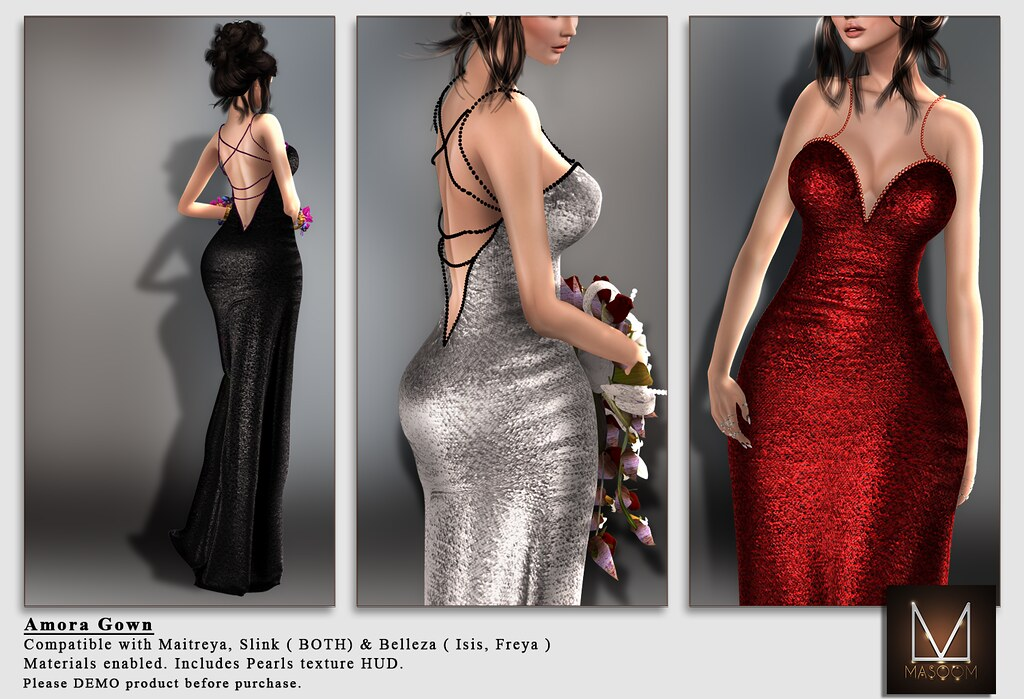 [[ Masoom ]] Amora Gown @ Au Lovely