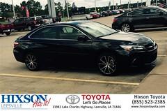 #HappyBirthday to Allen from Bret Bennett at Hixson Toyota of Leesville!