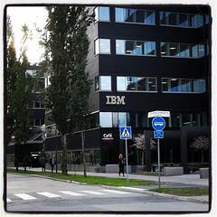 Mitt första besök på det nya kontoret blev också det sista. Tack och hej, IBM!