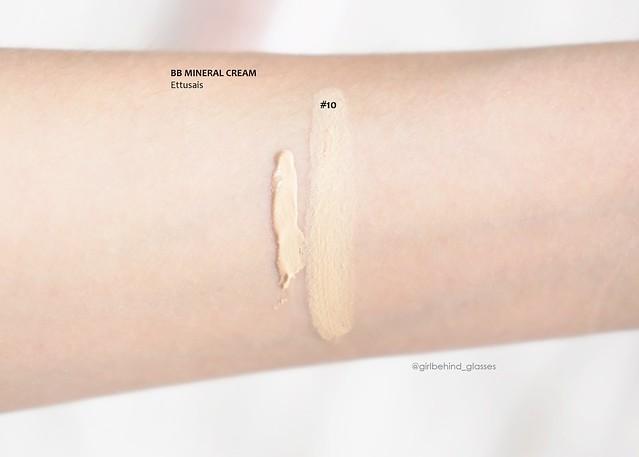 Ettusais BB Mineral Cream #10 swatch