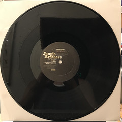JUNGLE BROTHERS:BRAIN(RECORD SIDE-B)