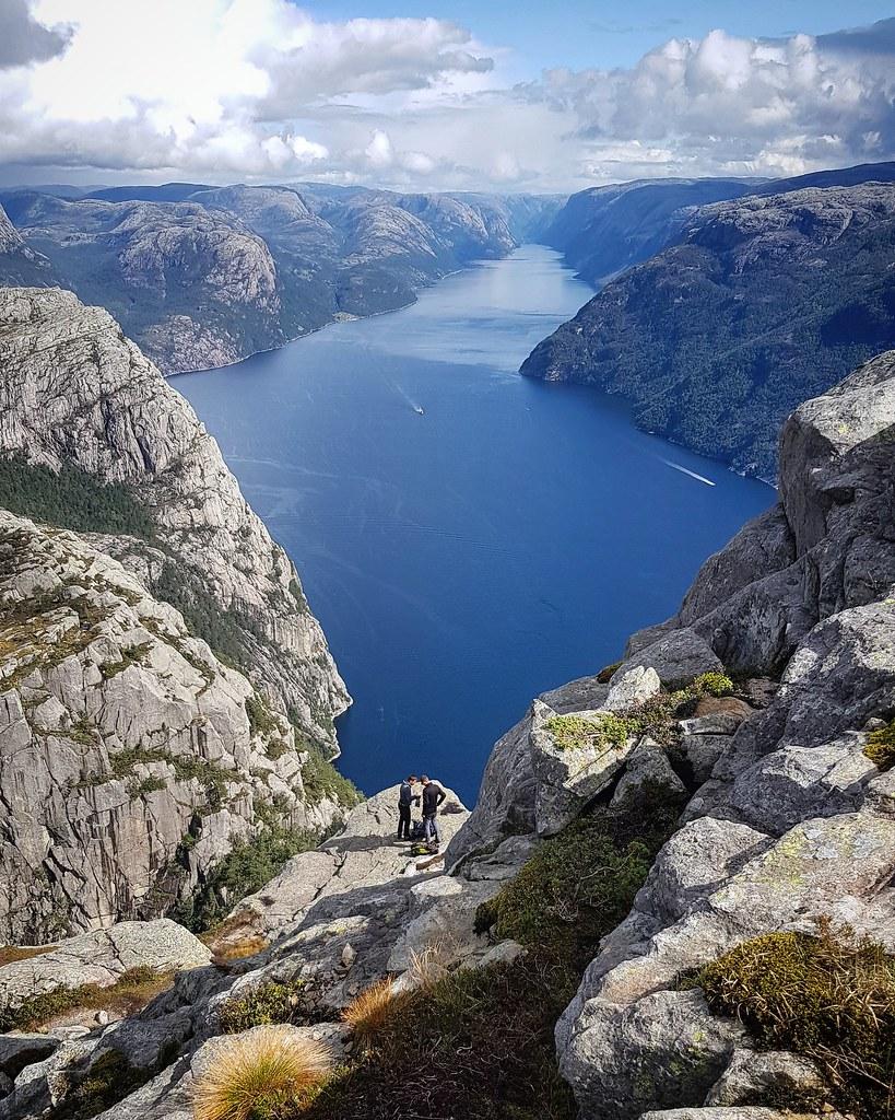 Widok na Lysefjord