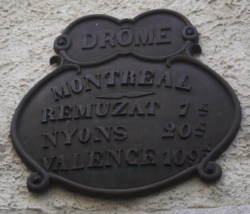 Montréal-les-Sources, Drome