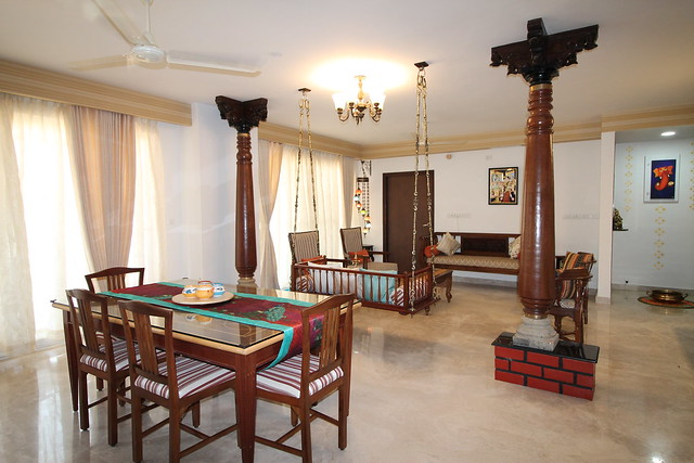 A Chettinad Style Apartment In Bangalore Dress Your Home Best