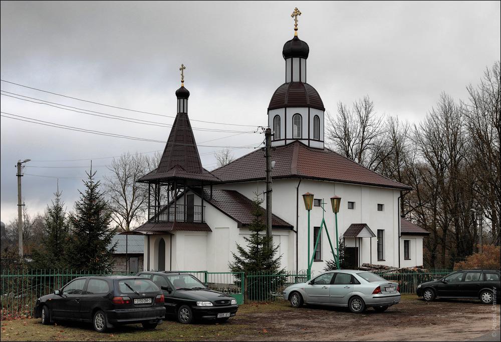 Бобр, Беларусь, Церковь св. Николая