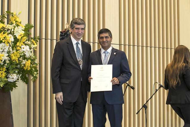 Con premiaciones y una clase magistral se conmemoraron los 29 años de la UANDES