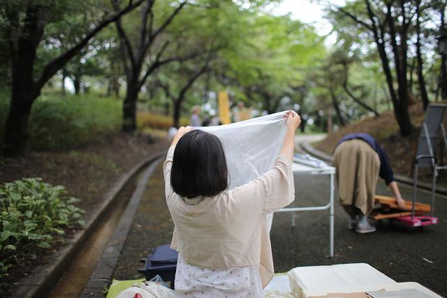 20180901一箱古本市 in 鳥屋野潟公園(ニイガタブックライトvol.15)