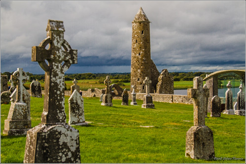 clonmacnoise ireland irlanda rovine monastero antico