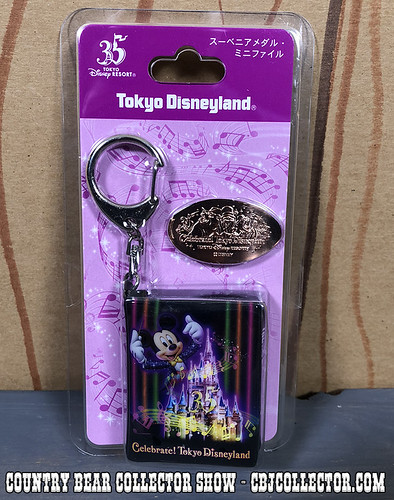 2018 Celebrate Tokyo Disneyland Country Bear Pressed Medallion Penny Collector Show 170