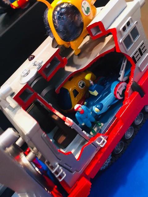 EX pramo《恐龍救生隊》「生而自由號」組裝模型作品!EXプラモ 恐竜探検隊ボーンフリー ボーンフリー号 DXセット