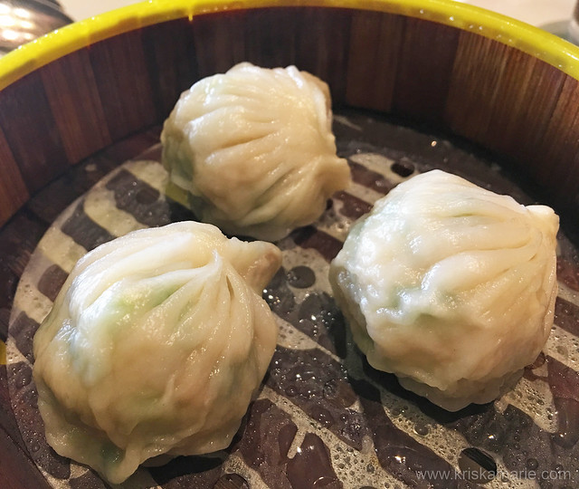 Chicken and Shrimp Dumplings with Chinese Chives from Long Yin