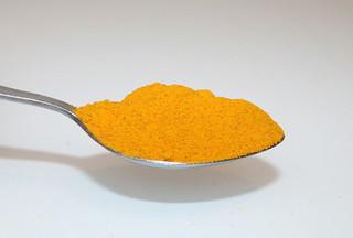 10 - Zutat Kurkuma / Ingredient turmeric