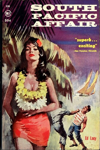 Belmont 220 Paperback Original (1961).  Uncredited Cover Art