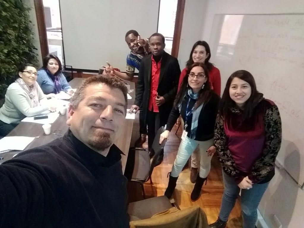 AFUMINVU avanzando con éxito curso idioma Créole en el MINVU - 31 Agosto 2018