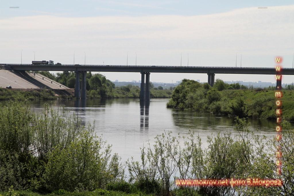 Мост Киевское шоссе река Ока г. Калуга