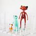 Wonder Frog Stands by Squishdellia