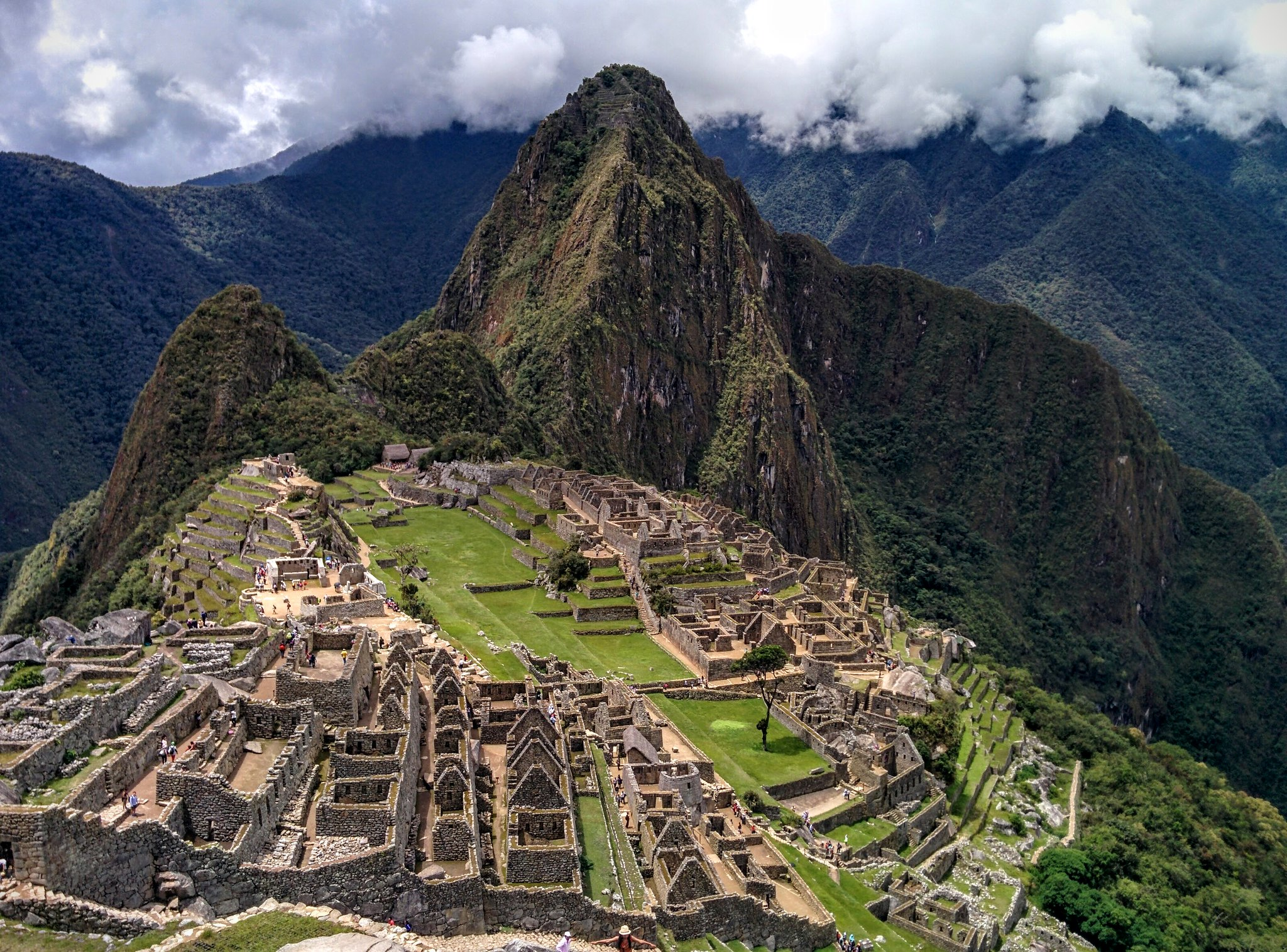 Machu Picchu from the guardhouse