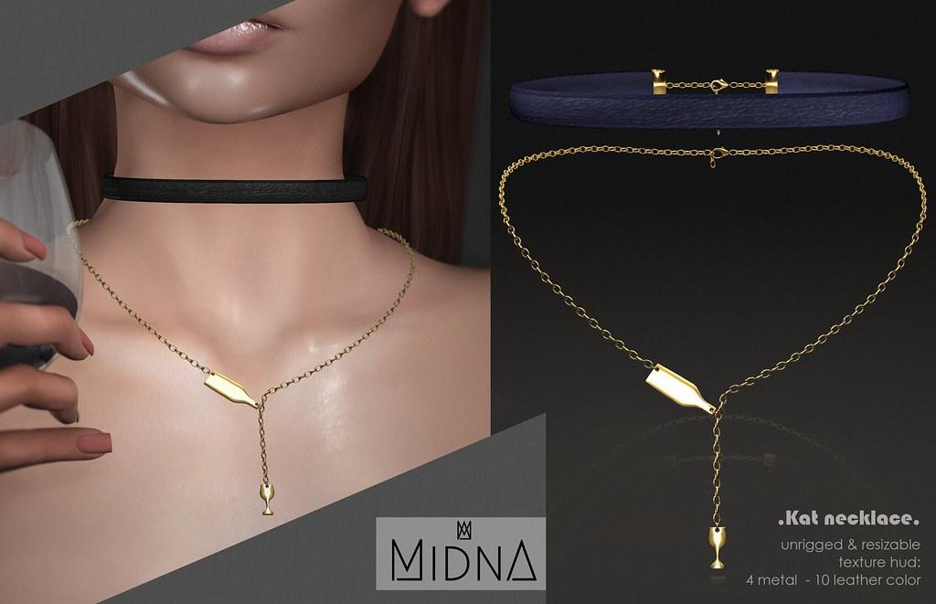Midna – Kat Necklace