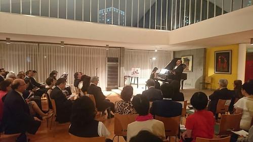Recital Conmemorativo del 130 Aniversario de Relaciones Diplomáticas México Japón 2