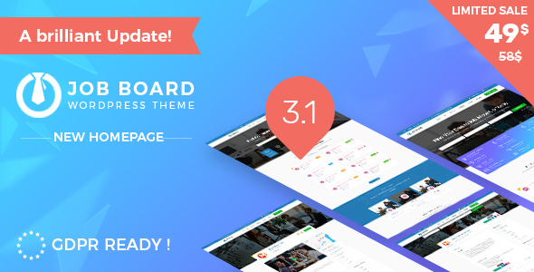 InJob v3.3.0 – Job Board WordPress Theme