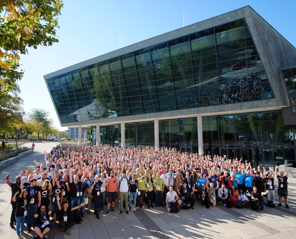 Official Group Photo Drupal Europe Darmstadt 2018