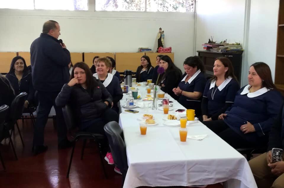 AFUMINVU saludó a las tías en el Día del Técnico en Educación Parvularia – 27 Agosto 2018