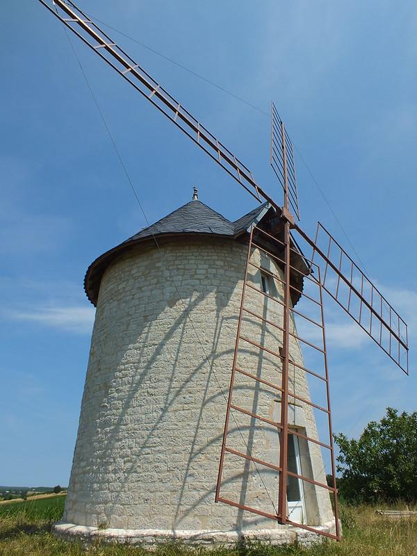 Mondoumerc - Moulin à vent de Granié
