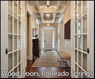 wood doors colorado spring
