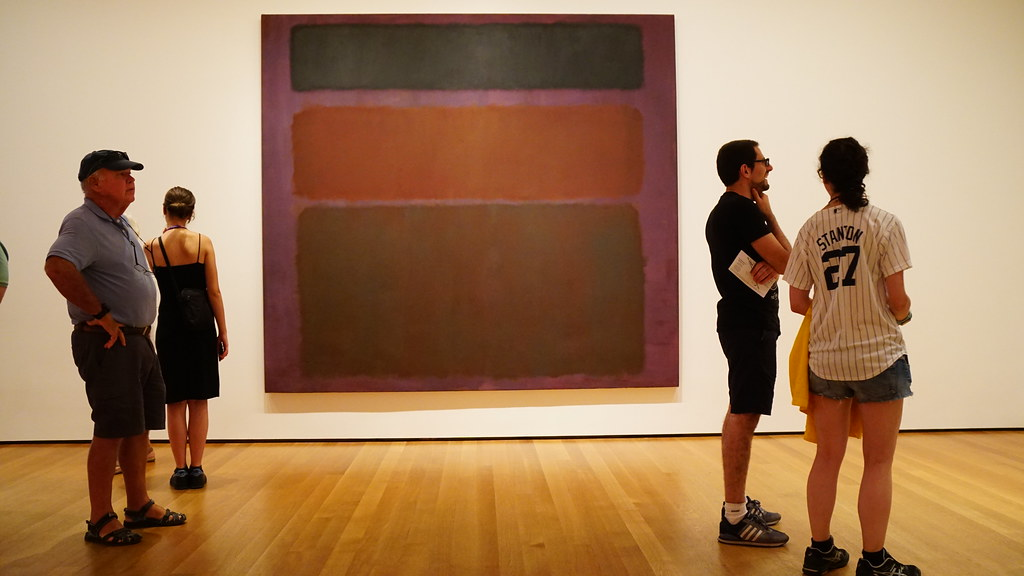 Trying to photograph a Rothko at MoMA(3)