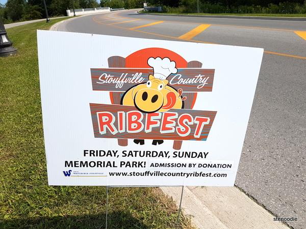Stouffville County Ribfest logo