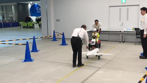 あいち航空ミュージアム やってみよう!空のお仕事体験2018 プッシュバック体験 IMG_0843