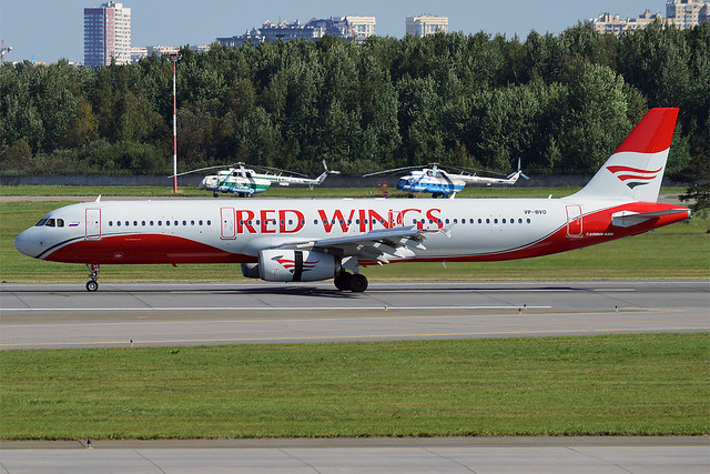 Red Wings, VP-BVO, Airbus A321-231