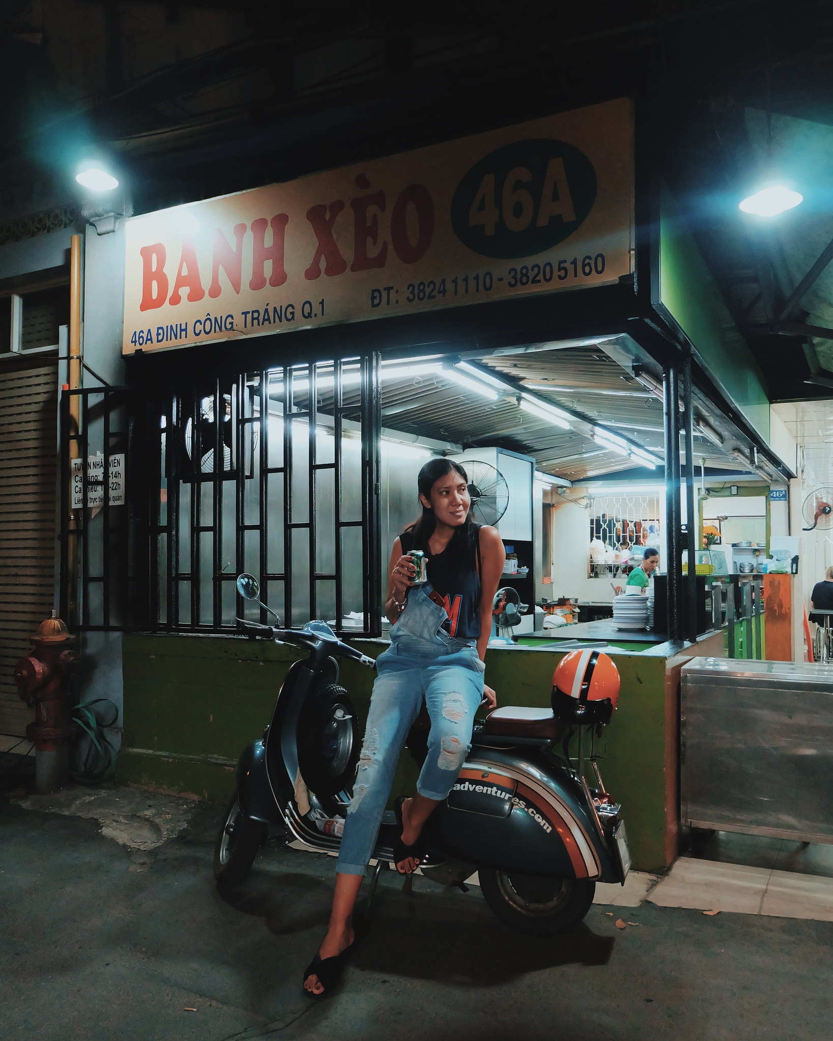 Saigon After Dark Vespa Adventures Food Tour in Ho Chi Minh