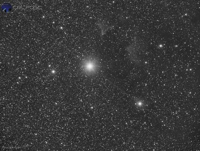 Gamma Cassiopea e IC59 e IC63