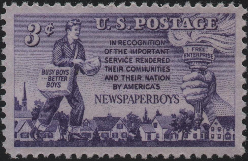 United States - Scott #1015 (1952)