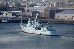 MPV Jura arriving in Aberdeen Harbour