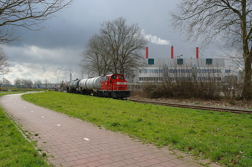 DB loc 4 + Acrylonitril-trein te DSM Geleen