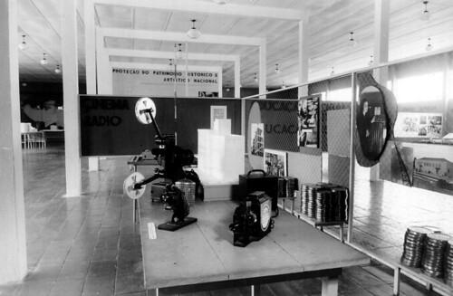 Equipamentos cinematográficos na Exposição Nacional do Estado Novo