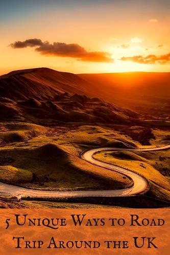 5 Unique Ways to Road Trip Around the UK