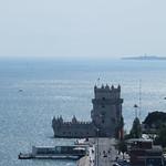 Изображение Башня Белем вблизи Algés. portugal lisbonne lisboa tourdebelém torredebelém tage tejo
